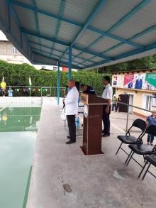 "Swimming Tournament in honor of the ""International Children"