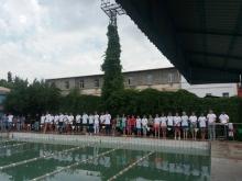 Старт турнира по плаванию