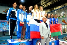 Continuation of the second international swimming tournament in Khujand