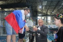 Closing of the second international swimming tournament in Khujand