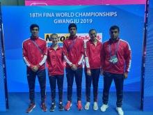 Участие таджикских спортсменов в Чемпионате мира по плаванию