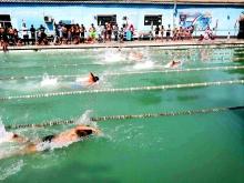 Соревнование по плаванию в г. Душанбе